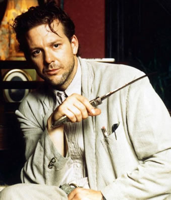 Mickey Rourke, from AngelHeart