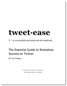 How to Twitter tweet-ease, the book
