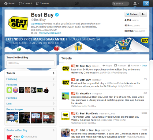 #newnewTwitter ScreenShot 1